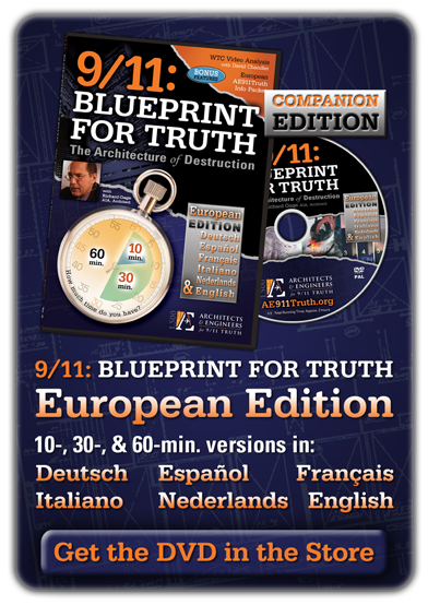Blueprint For Truth DVD - PAL European Edition
